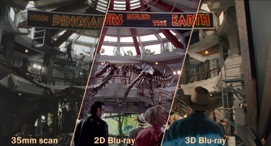 Jurassic Park scan looks like crap?