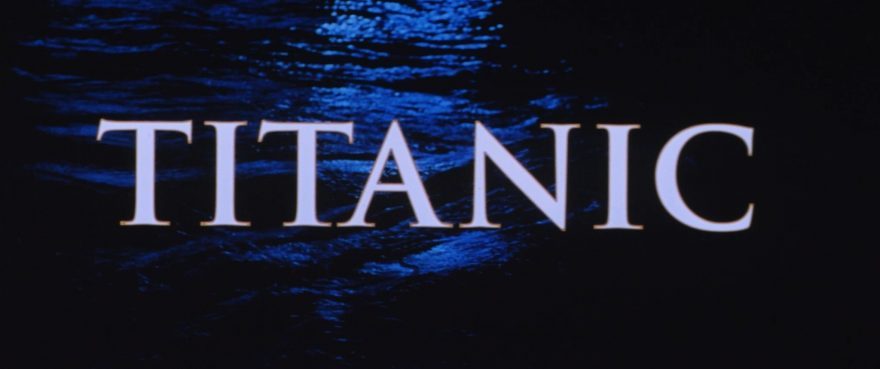 Titanic on 35mm
